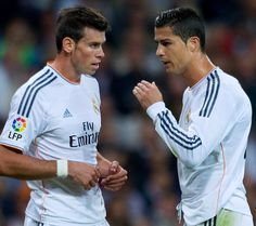 Gareth Bale & Christiano Ronaldo Real Madrid 2014 (90952) on