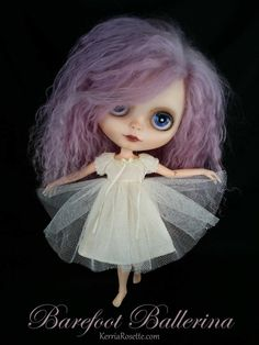 Baby Doll Dress or Night Dress for Blythe by KerriaRosette on Etsy, $38.00
