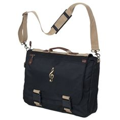 Black and Khaki Expandable Messenger Bag at The Music Stand Goodie Bag Items, Librarian Style, Music Items, Music Stand, New Bag, Briefcase, School Bags, Messenger Bag, Shoulder Strap