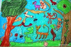 Rainforest Resist Art