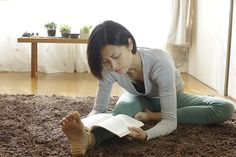 yogaforest | 8 Yin Yoga Poses You Can Practice While Reading a Book