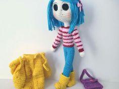 Coraline Jones Coraline Jones, Amigurumi Doll