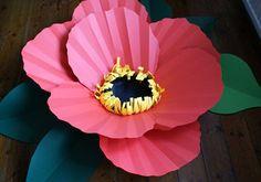 Paper flowers by Brittany Watson Jespen