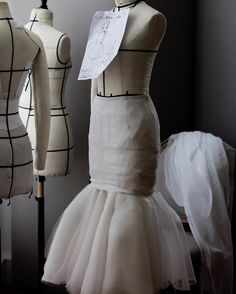 "DIOR, Paris, France, ""The atelier at 30 avenue Montaigne exhibited their exceptional savoir-faire in creations whose colors were reduced to their simplest expression – black and white – thus allowing the artful cutting and characteristic architecture of the garments to stand out"", pinned by Ton van der Veer"