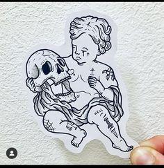 Skull Tattoos, Leg Tattoos, Sleeve Tattoos, Cool Tattoos, Medusa Tattoo, Get A Tattoo, Tatuagem Old School, Tattoo Sketches, School Design