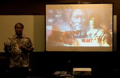 Showing of Healing the Warriors Heart at the 2014 Native Media Conference #NativeMedia14 #GoingTraDigital