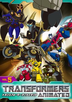 Transformers Animated (Japanese) Vol. 5 DVD