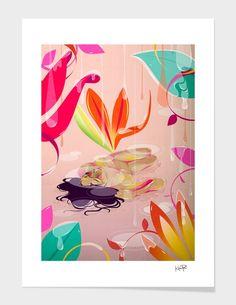 """""""Sleep"""" - Numbered Art Print by Kitkat Pecson on Curioos"""