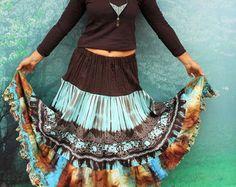 Gereserveerd voor Malia Storey M-L mini rok van jamfashion op Etsy