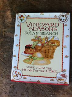 $1.99 Susan Branch recipe and idea book. Found at Goodwill.