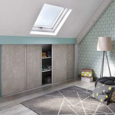 If you are lucky enough to have an attic in your home but haven't used this space for anything more than storage, then it's time to reconsider its use. An attic Interior, Home, Apartment Interior, Modern White Bathroom, Bedroom Loft, Attic Rooms, Bathroom Interior, Loft Spaces, Modern Apartment