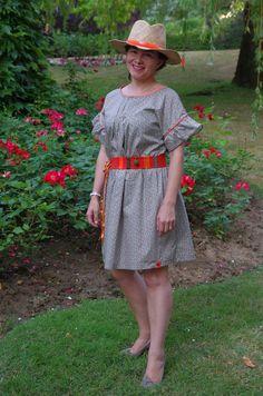"Modèle du livre "" Ma petite garde robe "", tunique A rallongée en robe"