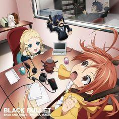 Black Bullet Black Bullet, Image Boards, Otaku, Pikachu, Sci Fi, Kawaii, Character, Anime Girls, Action