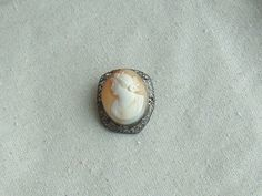 Estate Vintage Sterling Silver and Carved Shell Cameo Brooch w/ Filigree Frame http://cgi.ebay.com/ws/eBayISAPI.dll?ViewItem&item=291131721258