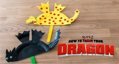 Do you have a Toothless and Hiccup Fan at your house? Here's a great craft for them to try. Follow our step by step instructions to make a magical dragon just ready to be trained. You …
