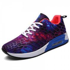 030b1a6378e Chaussures de personnalité confortables de mode décontractée - Pourpre EU  41 Sneakers