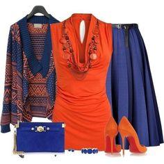Ideas de outfits: combinamos prendas con el color Azul intenso... Inspírate...