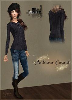 Sims York City: 08- Autumn Casual