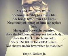 tony gaskins quotes - A real woman. Great Quotes, Me Quotes, Motivational Quotes, Inspirational Quotes, Girl Quotes, Positive Quotes, Godly Relationship, Relationships Love, The Words