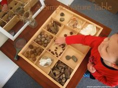 reggio emilia natural materials nature table an everyday story Its Not Just a Stick: A Simple Nature Table