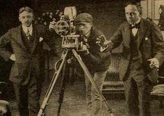 Harry Zeck, Marvin Spoor, Arthur Berthelet filming a scene at the Chicago Essanay studio Actions Speak Louder Than Words, Silent Film, Films, Chicago, Scene, Hollywood, History, Studio, Pictures