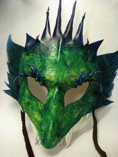 Dragon Mask by ~MyOwnFormOfTherapy on deviantART