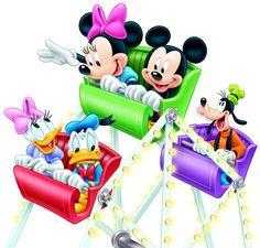 Disney Renders-Mickey & friends on the ferris wheel