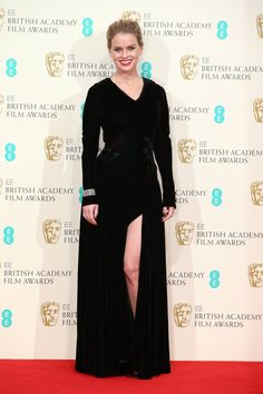 Pin for Later: The Biggest Trend at the BAFTA Awards Was as Clear as Black and White Alice Eve
