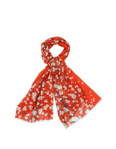 Echarpe en laine de Marimekko avec motif Lumimarja.