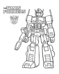 transformer happy birthday coloring pages - photo#27