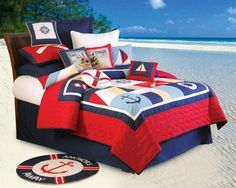 Sail Away Bedding Collection from C & F