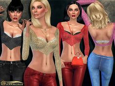 Sims 4 CC's - The Best: Clothing by Harmonia