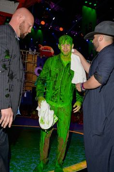 Pin for Later: The Best Snaps From the Kids' Choice Awards Nick Jonas