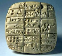 This is the first form of writing in Mesopotamia. Over years ago,people living in Mesopotamia developed a form of writing to record and communicate different types of information. Ancient Aliens, Ancient History, Art History, Ancient Mesopotamia, Ancient Civilizations, Emerald Tablets Of Thoth, Cradle Of Civilization, Ancient Artifacts, Ancient Mysteries