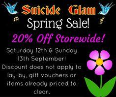 Spring Sale! retro Clothing, Gothic Clothing, Rockabilly, Vintage and Accessories! - Suicide Glam Australia https://www.facebook.com/suicideglamaustralia