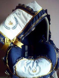 Atelie Pety Artes Baby: Capas de bebê conforto menino