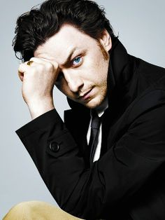 James McAvoy. THAT EYEBROW. THOSE EYES. OMG. Stop. Just stop, James. You are killing me. KILLING ME.