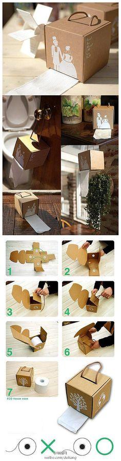爱手工  Not sure about the wedding gift part but it could come in handy elsewhere