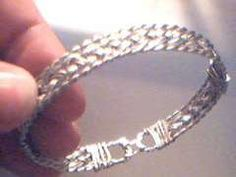 Diy wire bracelet. Make a classy bracelet from hardware store materials. This simple bracelet looks very upscale, but is inexpensive, classic, and easy!