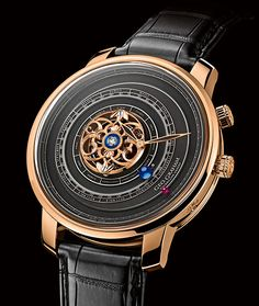 CELEBRATION OF THE 300 YEARS OF THE ORRERY GRAHAM the GEO.GRAHAM Tourbillon Orrery (PR/Pics http://watchmobile7.com/data/News/2013/07/130711-graham-Tourbillon_Orrery.html) (4/4) #watches