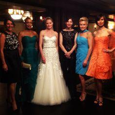 Another fabulous fashion show for @Elizabeth Johns Bridal @Liancarlo @Carmen Marc Valvo