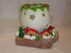 Resultado de imagen para detalles de navidad en porcelanicron