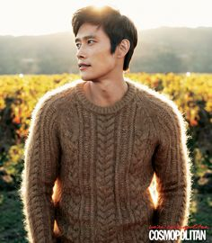 Lee Byung Hun. Lovely sweater ^^