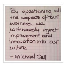 Dell Quote To Order You Can't Be Afraid To Fail Because That's When You Learn  Michael