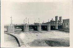 Puente de Piedra y río Rímac, 1924  Fuente: Lima la Unica