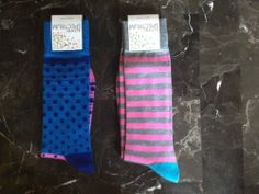 Men's Colorful Patterned Socks - Two Pair!!! | eBay