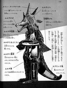 Anatomy of a kaiju. 9時間前にhumungusからリブログ  38リアクション