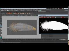 Modelling Feather w/ XGen - Maya 2016 - YouTube