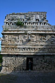 Chichen Itza was a large pre-Columbian city built by the Maya civilization. The archaeological site is located in the municipality of Tinum, in the Mexican state of Yucatán