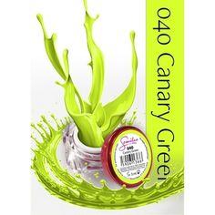 UV Gel χρώμα Semilac - 040 Canary Green 5ml